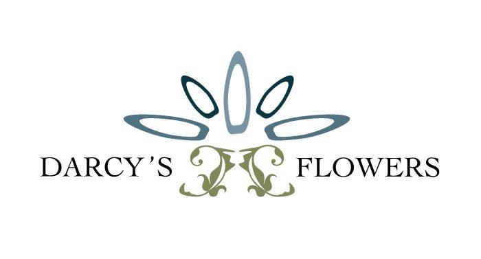 Darcy's Flowers Logo Design